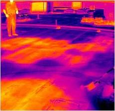 Infrared Roof Scan Predictive Maintenance